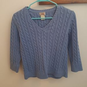 L.L. Bean V-Neck Sweater